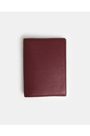 Globite Leather Passport Cover with RFID - Travel and Luggage (Mulberry) Leather Passport Cover with RFID