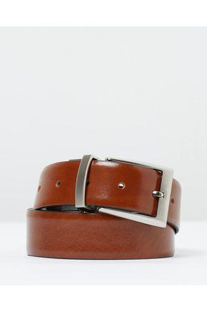 Loop Leather Co Men Belts - Ziggy (Reversible) - Belts (Tan/ ) Ziggy (Reversible)