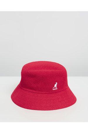 Kangol Bermuda Bucket Hat - Hats (Scarlet) Bermuda Bucket Hat
