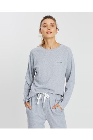 Assembly Label THE ICONIC EXCLUSIVE Logo Lounge Top - Sweats ( Marle) THE ICONIC EXCLUSIVE - Logo Lounge Top