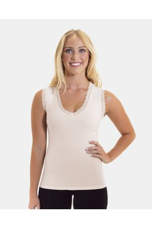 B Free Cotton Rich Tank Top 2 Pack - Lingerie ( & Blush) Cotton Rich Tank Top - 2 Pack