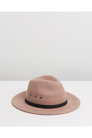 Billy Bones Club Salted Caramel Fedora - Hats (Tan) Salted Caramel Fedora