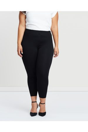 Atmos&Here Curvy Stacey Ponte Pants - Pants Stacey Ponte Pants