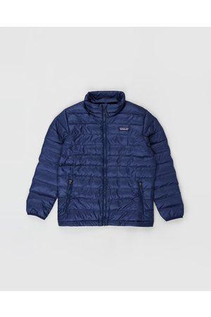 Patagonia Down Sweater Kids Teens - Coats & Jackets (Classic Navy) Down Sweater - Kids-Teens