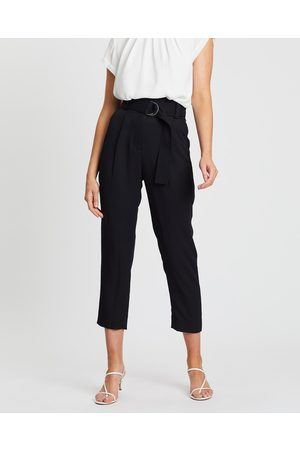 SABA Dharma Belted Slim Pants - Pants Dharma Belted Slim Pants