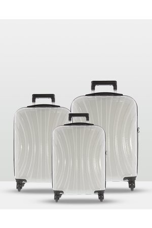 Cobb & Co Adelaide Luggage 3 Piece Hardside Spinner - Travel and Luggage Adelaide Luggage 3 Piece Hardside Spinner