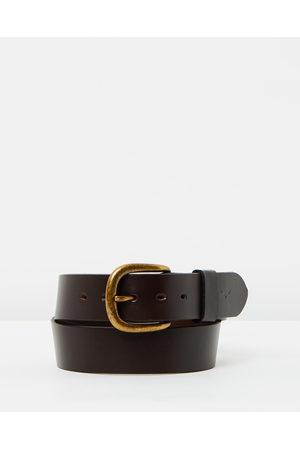 """R.M.Williams 1 1 2"""" Traditional Belt - Belts (Chestnut) 1 1-2"""" Traditional Belt"""