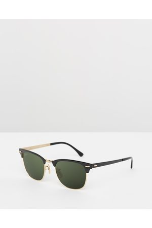 Ray-Ban Clubmaster Metal Polarised - Square ( & Polar ) Clubmaster Metal Polarised