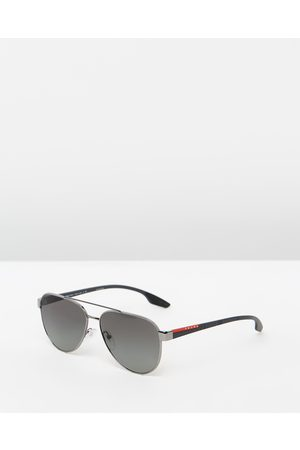 Prada Linea Rossa PS54TS - Sunglasses (Gunmetal & Gradient) PS54TS