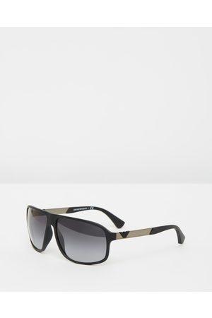 Emporio Armani Injected Man Sunglasses - Sunglasses ( Rubber & Gradient) Injected Man Sunglasses