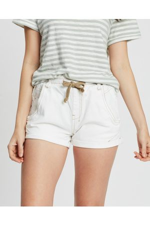 DRICOPER DENIM Active Denim Shorts - Denim Active Denim Shorts