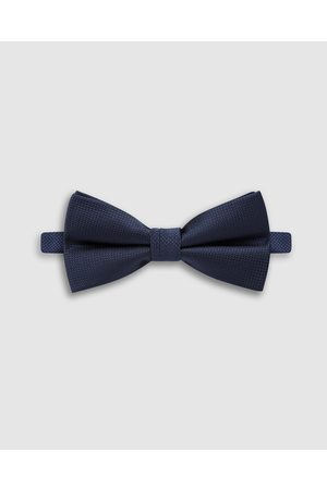 Buckle Wedding Bow Tie - Ties & Cufflinks (Navy) Wedding Bow Tie