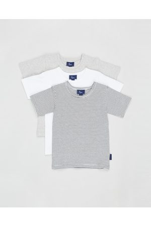 Pappe 3 Pack Putney SS T Shirts Babies - T-Shirts & Singlets (Multi) 3-Pack Putney SS T-Shirts - Babies