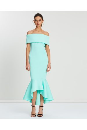 Loreta Avenue Scuba Dress - Bridesmaid Dresses (Soft Turquoise) Avenue Scuba Dress