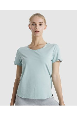 The Brave Women's Slipstream T Shirt - Short Sleeve T-Shirts (Sage) Women's Slipstream T-Shirt