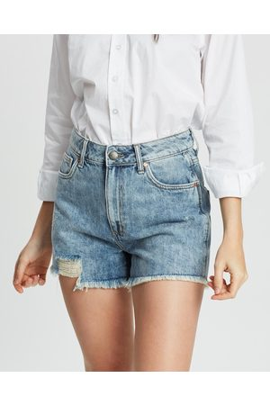DRICOPER DENIM Tatiana High Waisted Shorts - Denim (Fade Out) Tatiana High-Waisted Shorts