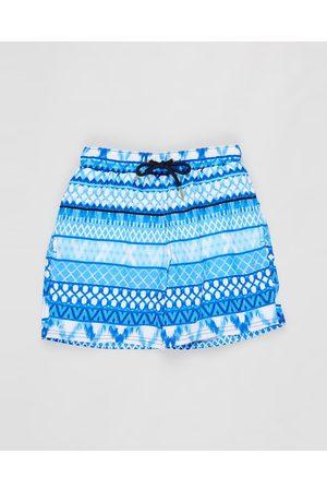 Aqua Blu Riviera Boardshorts Kids - Swimwear (Riviera) Riviera Boardshorts - Kids