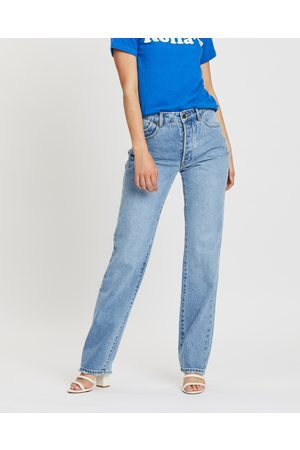 Rollas Classic Straight Jeans - High-Waisted (90s ) Classic Straight Jeans