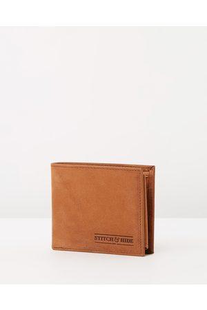 Stitch & Hide Casper Wallet - Wallets (Cafe) Casper Wallet