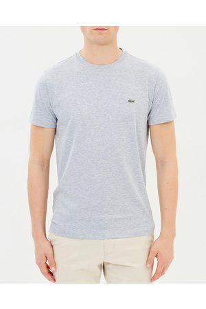 Lacoste Crew Neck Cotton Pima Tee - T-Shirts & Singlets ( Chine) Crew-Neck Cotton Pima Tee