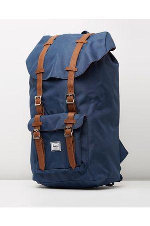 Herschel Little America - Bags (Navy & Tan) Little America