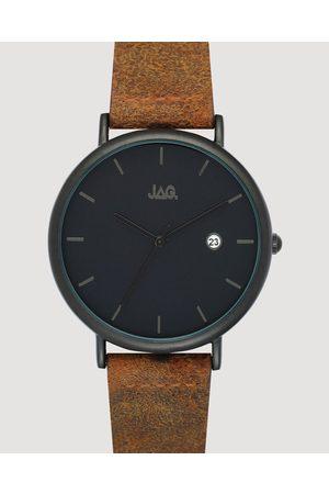 JAG Men Watches - Ryan Black Matt Dial Strap 43 mm - Watches Ryan Black Matt Dial Strap 43 mm