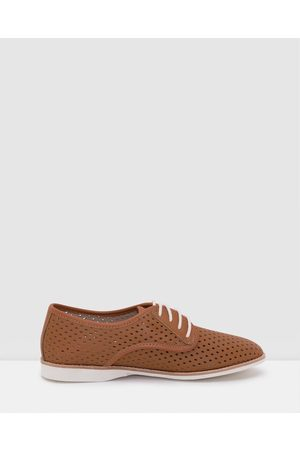 Rollie Derby Punch Shoes - Flats Derby Punch Shoes