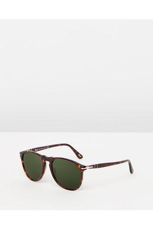 Persol Icon PO9649S - Sunglasses (Havana & Crystal ) Icon PO9649S