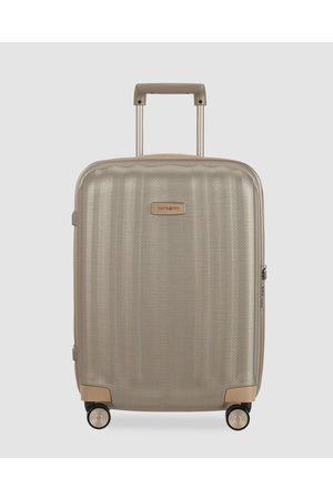 Samsonite Lite Cube Prime 55cm Spinner - Travel and Luggage (Matte Ivory & ) Lite-Cube Prime 55cm Spinner
