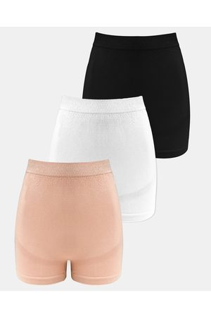 B Free 3 Pack Maternity Boyleg Shorts - Briefs ( Nude) 3-Pack Maternity Boyleg Shorts