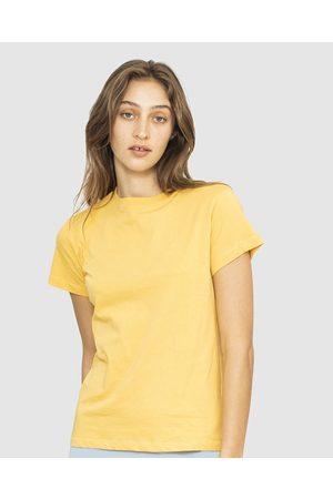 NICO Plant Dyed Organic Cotton Tee - T-Shirts & Singlets (Marigold) Plant Dyed Organic Cotton Tee