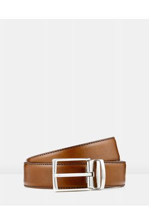 Aquila Bane Leather Belt - Belts (Tan) Bane Leather Belt