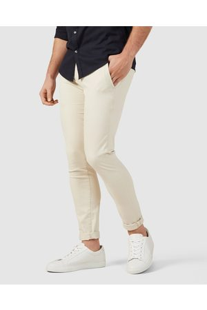 French Connection Slim Fit Stretch Chino Pants - Pants (SALT) Slim Fit Stretch Chino Pants
