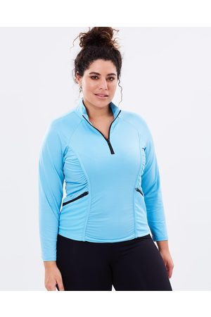 Curvy Chic Sports Stay Cool Long Sleeve Top - T-Shirts & Singlets Stay Cool Long Sleeve Top