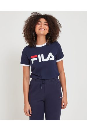 Fila Classic Ringer Tee - T-Shirts & Singlets (New Navy) Classic Ringer Tee