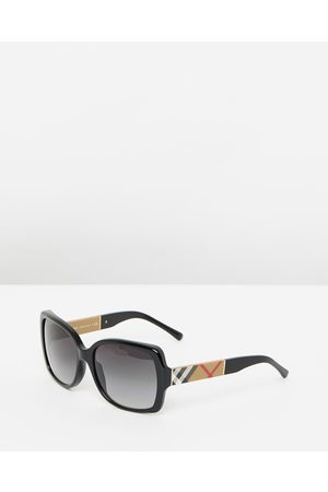 Burberry Heritage Printed Check BE4160 - Sunglasses ( & Gradient) Heritage Printed Check BE4160