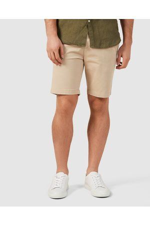 French Connection Slim Fit Stretch Chino Shorts - Shorts (STONE) Slim Fit Stretch Chino Shorts