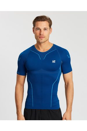 LP Support Air Compression Short Sleeve Top - all compression (Steel ) Air Compression Short Sleeve Top