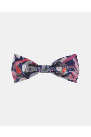 Peggy and Finn Protea Bow Tie - Ties & Cufflinks (Navy) Protea Bow Tie