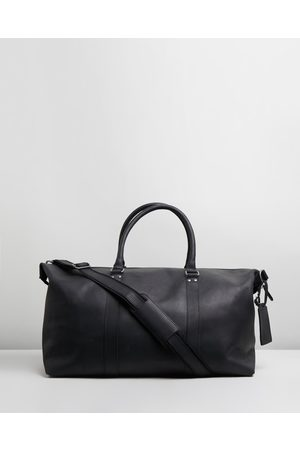 Double Oak Mills Lyle Leather Weekender - Duffle Bags Lyle Leather Weekender