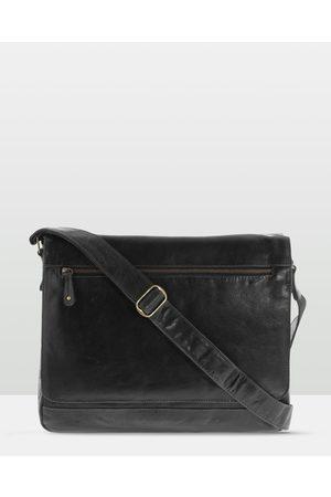 Cobb & Co Declan Leather Laptop Bag - Satchels Declan Leather Laptop Bag