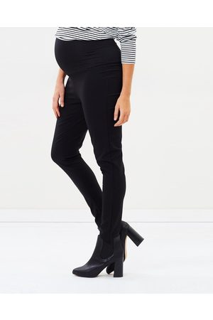Angel Maternity Maternity Fitted Slim Work Pants - Pants Maternity Fitted Slim Work Pants