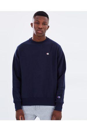 Champion Men Sweatshirts - Reverse Weave Crew Sweater - Sweats (Navy) Reverse Weave Crew Sweater