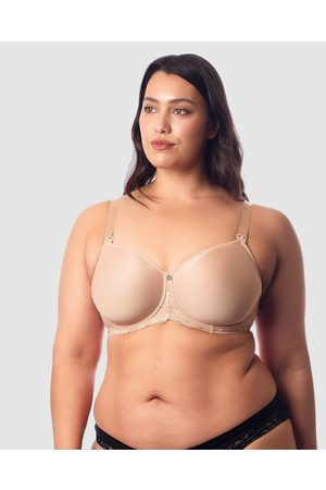 Hotmilk Maternity Lingerie Obsession Nursing Bra - Underwire Bras (Nude) Obsession Nursing Bra