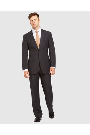Kelly Country Livorno Slim Fit Charcoal Suit - Suits & Blazers Livorno Slim Fit Charcoal Suit