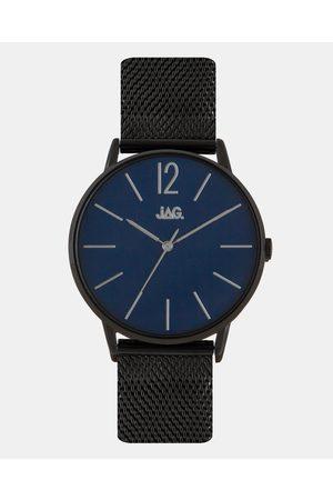JAG Billy Dark Blue Dial IP Bracelet 40mm - Watches Billy Dark Blue Dial IP Bracelet 40mm