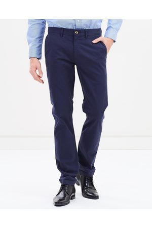 Ben Sherman Slim Stretch Chinos - Pants (Navy) Slim Stretch Chinos