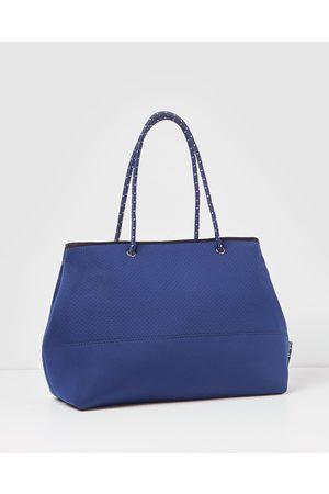 Miz Casa and Co Ivy Neoprene Tote Bag - Bags (Navy ) Ivy Neoprene Tote Bag