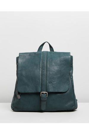 Stitch & Hide Hamburg Backpack - Bags (Petrol) Hamburg Backpack