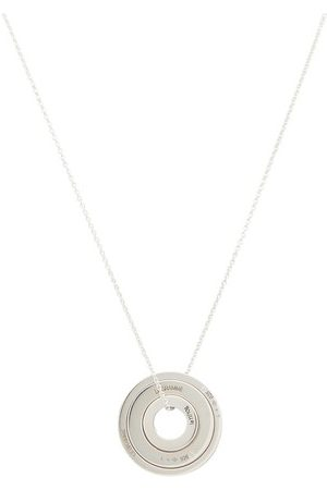 Le Gramme Necklace accumulation collars disc le 5g 925 slick polished